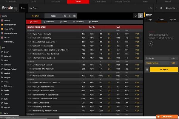 betcoin sports betting