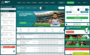 22Bet Sportsbook Review Screenshot